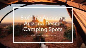 Amazing Arizona Desert Camping Spots