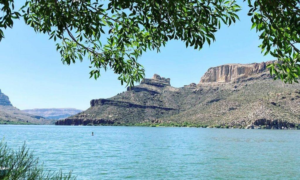 Apache Lake in AZ