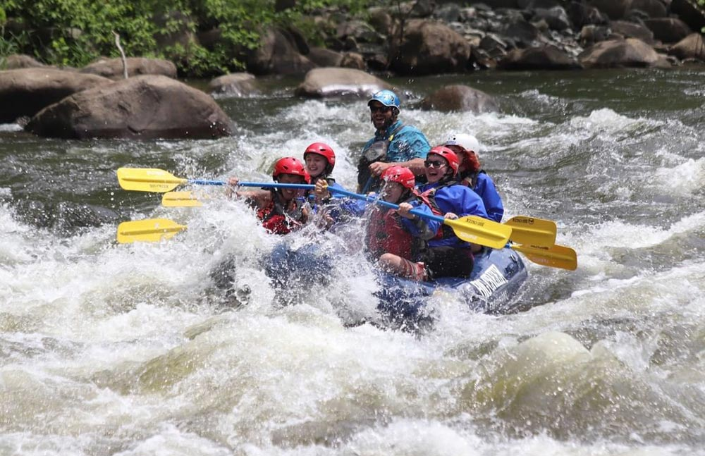 Best Time Of The Year For River Rafting in Great Smoky Mountains National Park