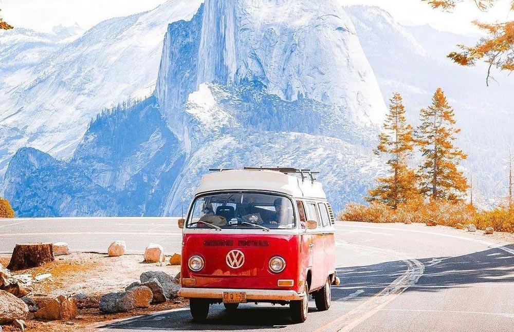 Best time for scenic drives in Sequoia National Park