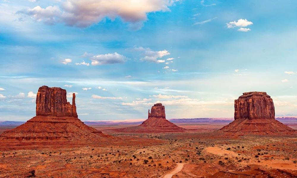 Monument Valley Navajo Tribal Park  Arizona Desert Camping