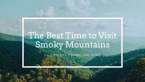 The Best Time to Visit Smoky Mountains