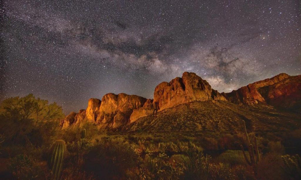 Tonto National Forest for star gazing