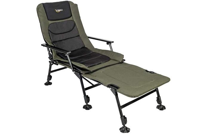 Vingli Folding Chair Plus Footrest
