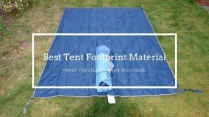 best tent footprint material