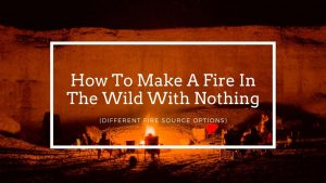 How To Make A Fire In The Wild With Nothing